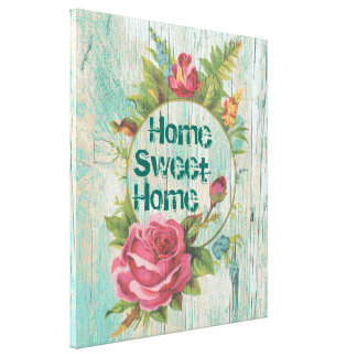 Home Sweet Home, MAKE YOUR OWN Canvas Print