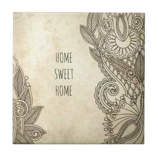 Home Sweet Home memorabilia, perfect gift Tile
