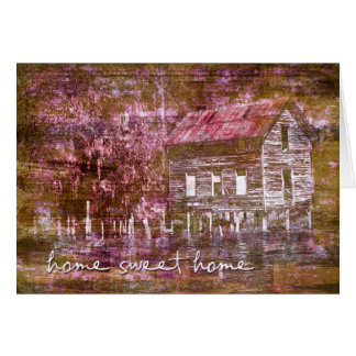Home Sweet Home New Address Notecard