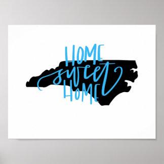 Home Sweet Home - North Carolina Wall Art