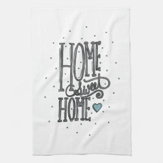 Home Sweet Home - Original Artwork Kitchen Towel