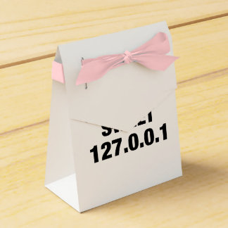 Home Sweet Home PRogrammer Party Favor Boxes