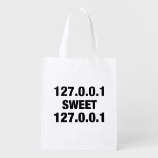 Home Sweet Home PRogrammer Reusable Grocery Bag