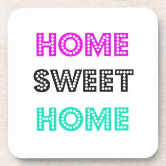 Home Sweet Home Square Coasters - Set of 6
