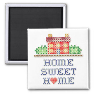 Home Sweet Home Square Magnet