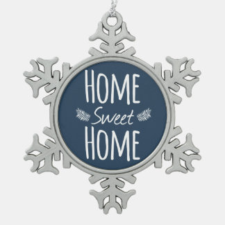 Home Sweet Home Typography Ornament
