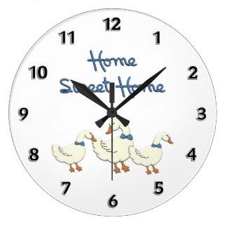 Home Sweet Home Wall Clocks