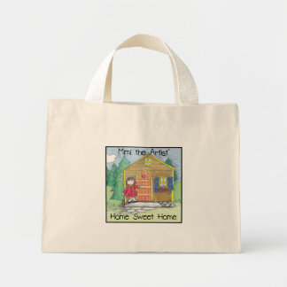 Home Sweet Home with Mimi the Artist! Mini Tote Bag
