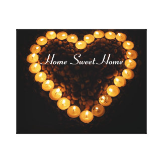 Home Sweet Home Wrapped Canvas Canvas Prints