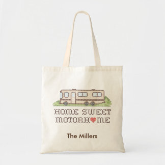Home Sweet Motor Home, Class A Fun Road Trip Tote Bag