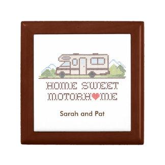 Home Sweet Motor Home, Class C Fun Road Trip Keepsake Boxes