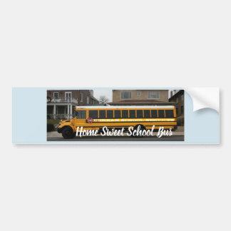 Home Sweet School Bus sticker