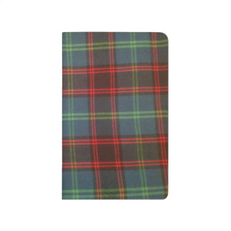 Home Tartan Pocket Journal