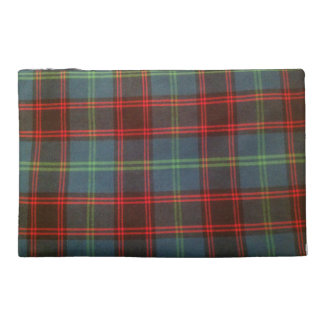 Home Tartan Travel Accessory Bag