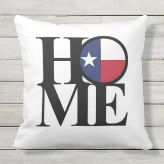 "HOME Texas Outdoor Throw Pillow 20"" x 20"""