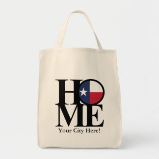 HOME Texas Tote- Add your city name