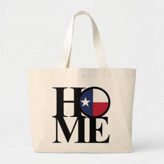 HOME Texas Typography Tote Jumbo