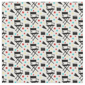 Home theater mixed movie pattern material fabric