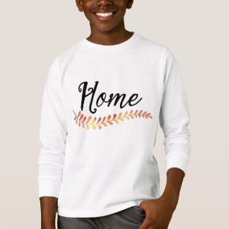"""Home"" | trendy laurel illustration T-Shirt"