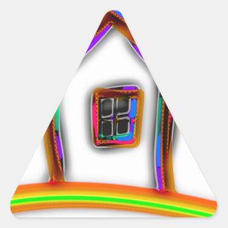 Home Triangle Sticker