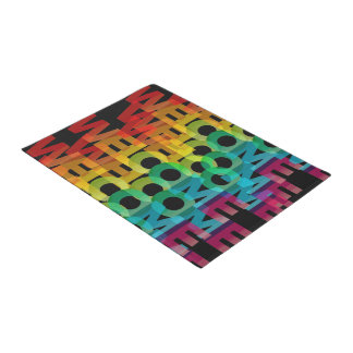 Home Welcome Pattern Doormat