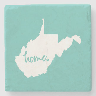 Home West Virginia Custom Colour Stone Coaster