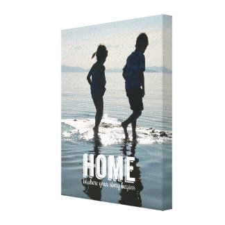 Browse the Inspiration Canvas Print Collection and personalize by color, design, or style.