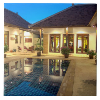 home with swimming pool in Phuket, Thailand Ceramic Tiles