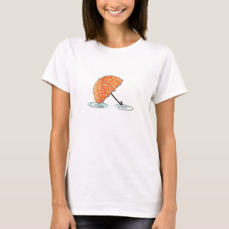 Homeberries Umbrella in Puddles T-Shirt