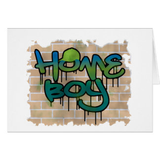 homeboy graffiti  design card