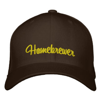 Homebrewer Embroidered Hat