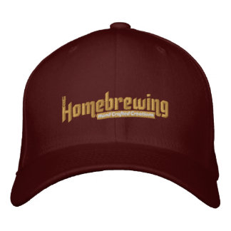 Homebrewing Fitted Hat
