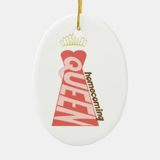 Homecoming Ceramic Oval Ornament