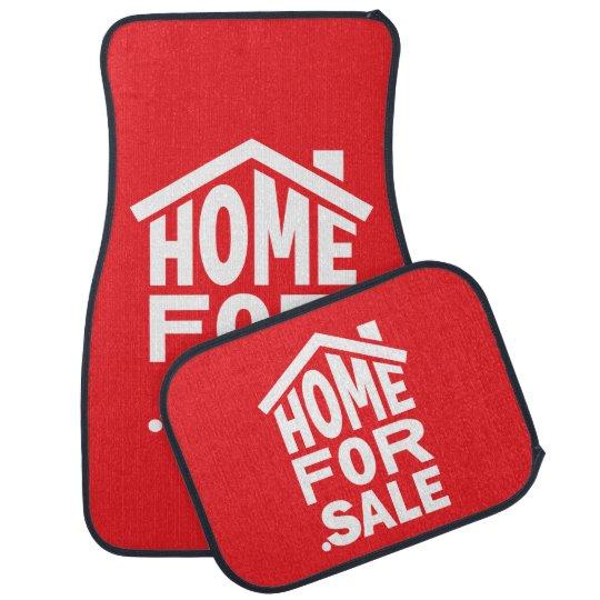 """""""HomeFor.Sale"""" Car Mats Auto Mat"""