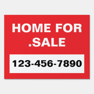"""HomeFor.Sale"" Sign"