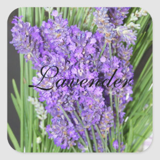 Homegrown Lavender Plant Label