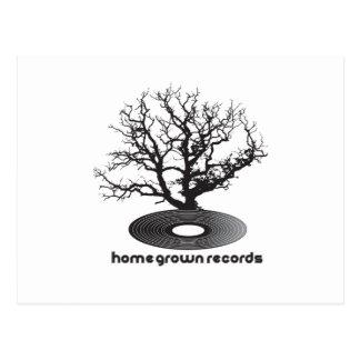 Homegrown Tree Postcard