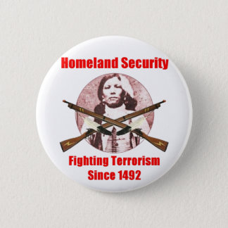 homeland security-1 2 inch round button