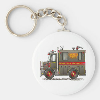 Homeland Security Command Truck Key Chains