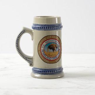 Homeland security mug. beer stein
