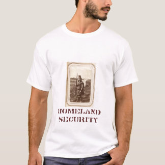 Homeland Security (since 1050 on back) T-Shirt