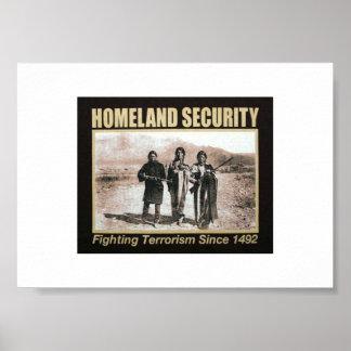 Homeland Security ~Women Poster