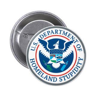 Homeland Stupidity Button