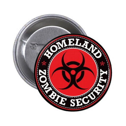 Homeland Zombie Security - Red B Buttons