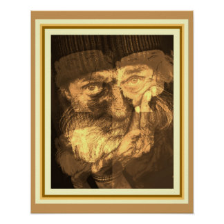 """Homeless"" 16 x 20 poster by Joco Studio"