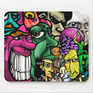 homeless, Skullaloner, froreg, Just the King-gr... Mouse Pad