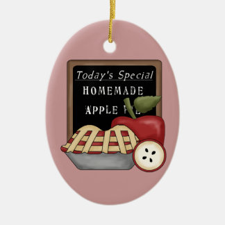 Homemade Apple Pie Kitchen Ornament