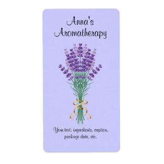 Homemade Aromatherapy Potpourri Label