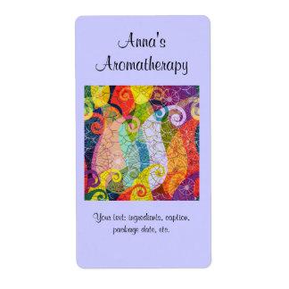 Homemade Aromatherapy Potpourri Label Shipping Label
