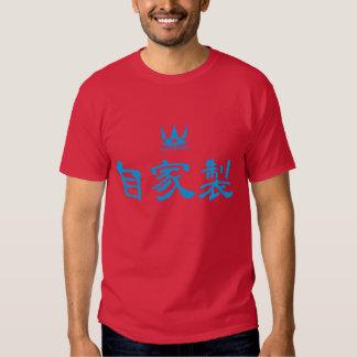 Homemade (blue) t-shirts